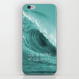 Better at the Beach iPhone Skin
