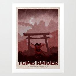 Tomb Raider (2013) Art Print