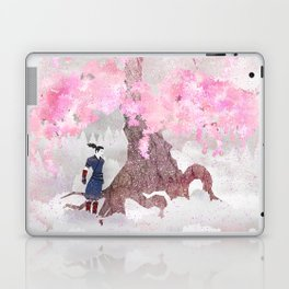 Tengami - Winter Cherry Tree (Portrait) Laptop & iPad Skin