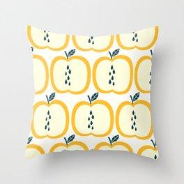 Apple Pattern 2 Throw Pillow