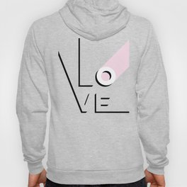 True Love Never Ends - black, white & pink #love Hoody