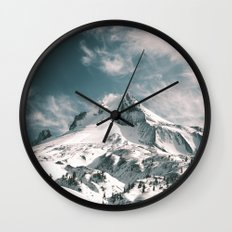 Mount Hood V Wall Clock