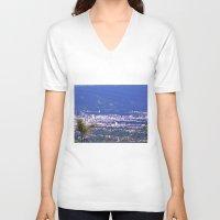 colombia V-neck T-shirts featuring The Santanderes, Colombia. by Alejandra Triana Muñoz (Alejandra Sweet