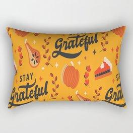 Thanksgiving Pattern Family Hoilday Rectangular Pillow