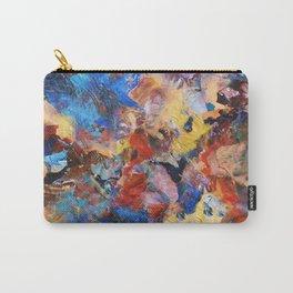 Dark Paint Splash Carry-All Pouch