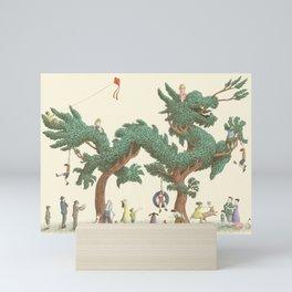 The Night Gardener - The Dragon Tree Mini Art Print