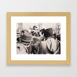 "The ""Terrorist"" December 1989 Sibiu Framed Art Print"
