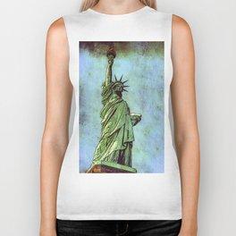 Lady Liberty #2 Biker Tank