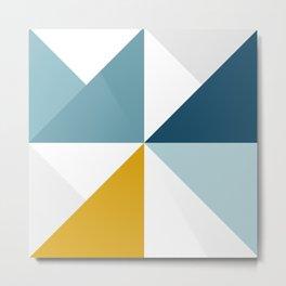 Modern Geometric 18/3 Metal Print