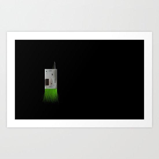 Domicile 04_Food Storing Moon_render Art Print