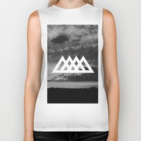 angels Biker Tanks featuring Angels by ATWA
