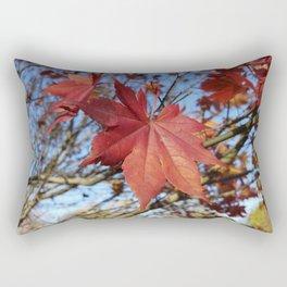 Maple leaf center stage Rectangular Pillow