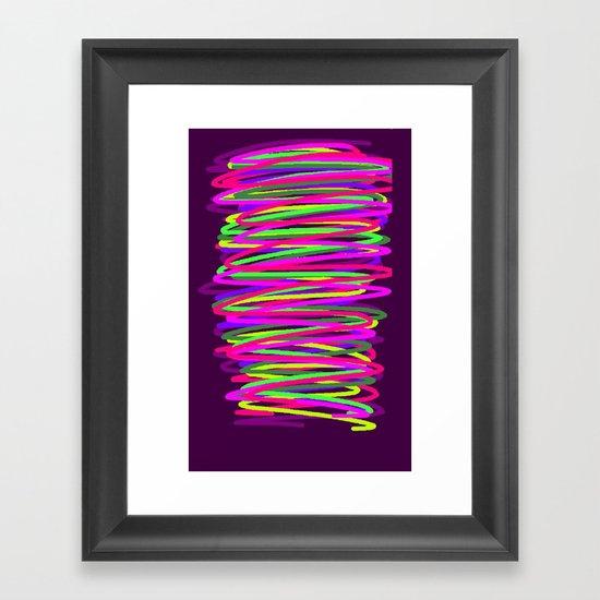 dsfg Framed Art Print