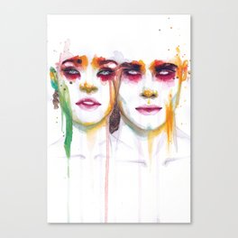 Silence and Echo Canvas Print