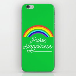 Pure happiness iPhone Skin