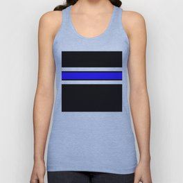 Team Colors 2....Blue Unisex Tank Top