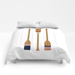 American Painted Oars Comforters
