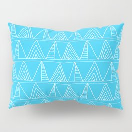 Triangles- Simple Triangle Pattern for hot summer days - Mix & Match Pillow Sham