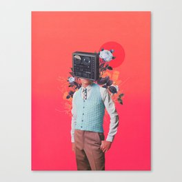Phonohead Canvas Print