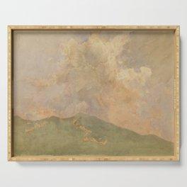 Asai Chū - Cloud (1907) Serving Tray