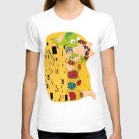 klimt T-shirts featuring Klimt muppets by tuditees