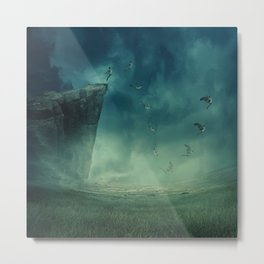 give your dreams their wings to fly Metal Print