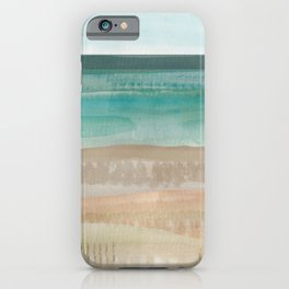 Jade seascape iPhone Case