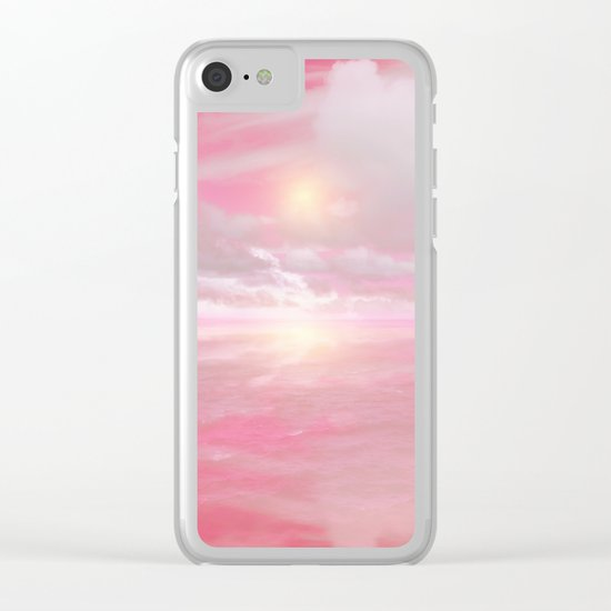 Out to Sea II Clear iPhone Case