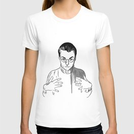 Would You Like To Touch My Monkey? T-shirt
