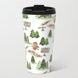 Jersey Devil Welcomes You to the Pine Barrens! Metal Travel Mug