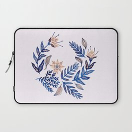Blue Wreath Laptop Sleeve