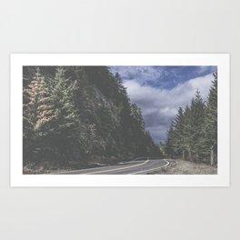 Fall on the Ridge Art Print