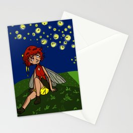 Firefly Fairy Stationery Cards