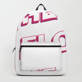 Gym Mom Heart Floor Backpack