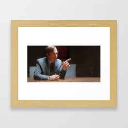 This Injustice Will Not Stand - Better Call Saul Framed Art Print