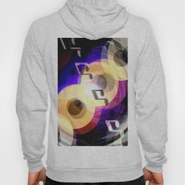Music and painting. Hoody