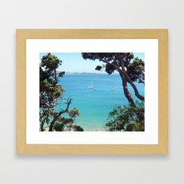 The Briny Blue Framed Art Print