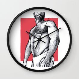 Hairy Lust Wall Clock