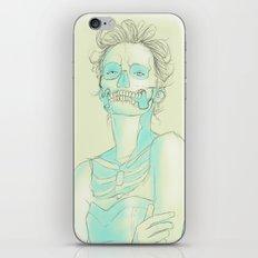 Lady Skull iPhone & iPod Skin