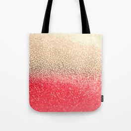 GOLD CORAL Tote Bag