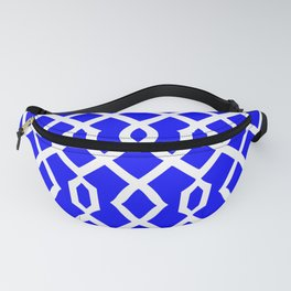 Grille No. 3 -- Blue Fanny Pack