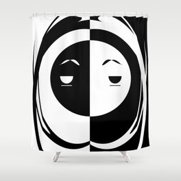Apathetic As F**k Shower Curtain