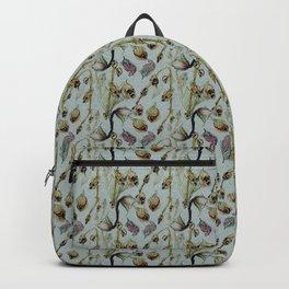 Dead Rose & Snapdragon Pattern Backpack