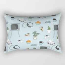 Friday Night Party {for introverts} Rectangular Pillow
