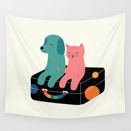 Travel More Wall Tapestry
