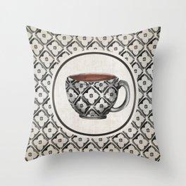 Moroccan Boho Pattern Coffee Mug Throw Pillow
