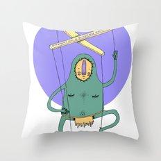 Puppet Throw Pillow