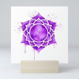 Crown Chakra Sahasrara Mini Art Print