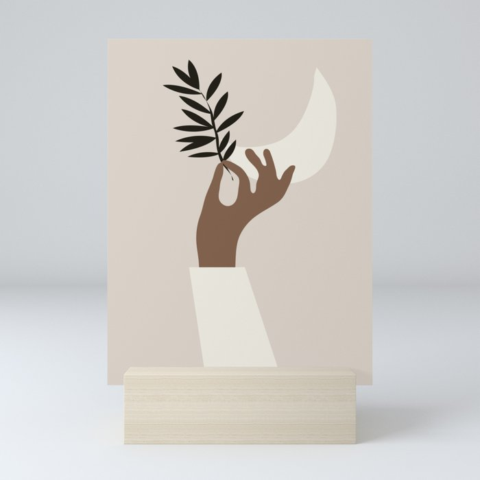 Hand 3 Mini Art Print