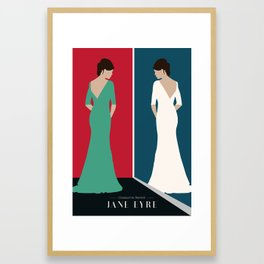 JANE EYRE DESIGN Framed Art Print